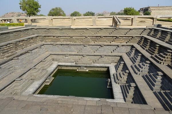 Акведуки мира - Акведук Хампи в Индии