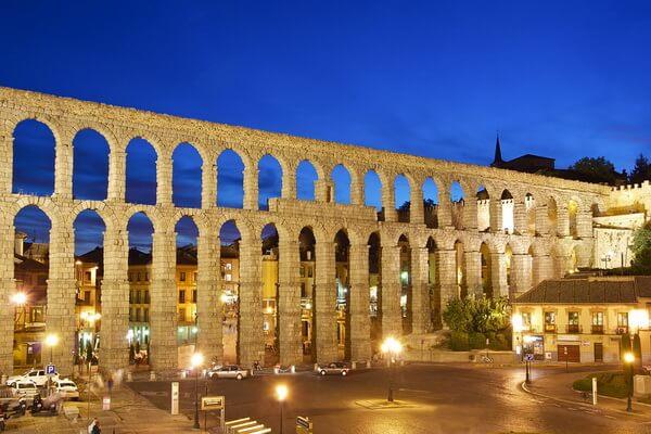Акведуки мира - Акведук в Сеговии, Испания