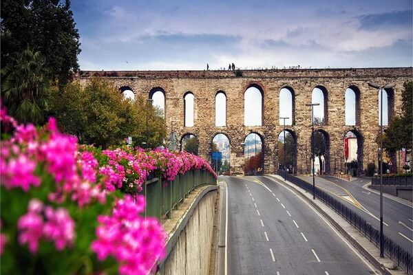 Акведуки мира - Акведук Валента в Стамбуле