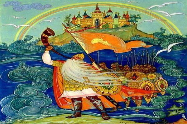 Куркин Александр Михайлович - биография художника-иллюстратора сказок Пушкина