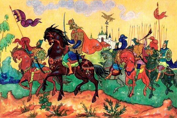 Иллюстрации Александра Михайловича Куркина к сказкам Пушкина