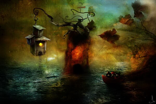 Александр Янссон и его волшебные миры на картинах