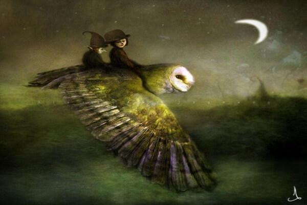 Художник Alexander Jansson и его сказочные иллюстрации