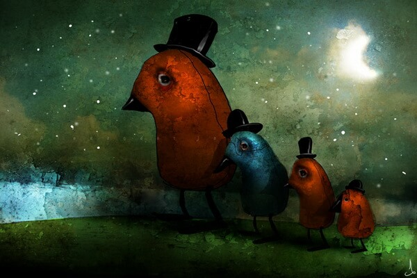 Волшебные иллюстрации Александра Янссона