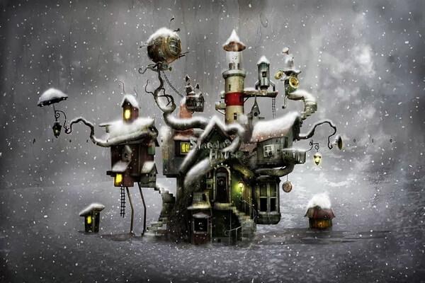 Иллюстрации шведского художника Александра Янссона