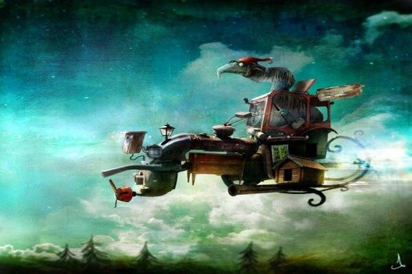 Шведский художник-иллюстратор Александр Янссон и его картины со сказочными мирами и персонажами
