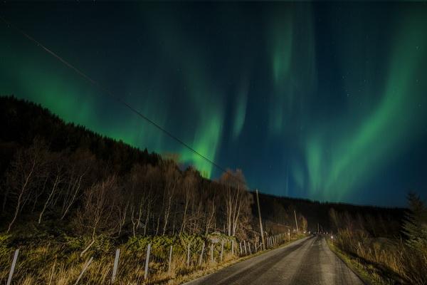 Фотографии полярного сияния