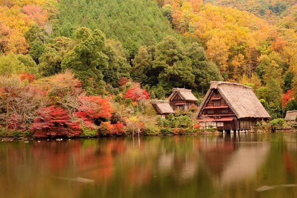Золотая осень в Японии