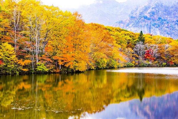 Осень в Японии - фото для вдохновения
