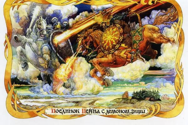 Белка в славянской мифологии