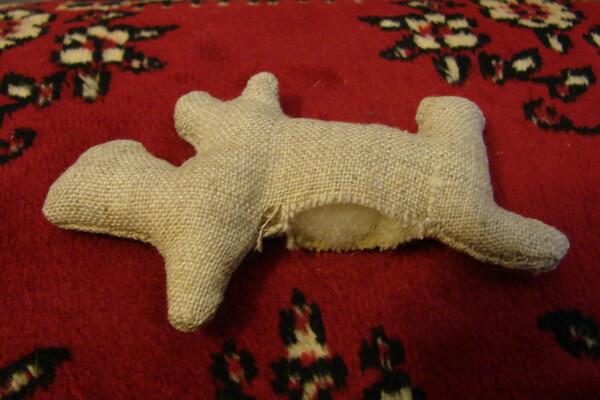 Как сделать чердачную игрушку собаку - шаг 4 и 5