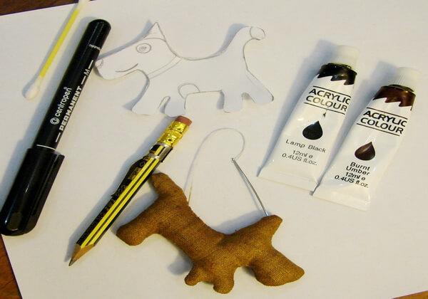 Как сделать чердачную игрушку собаку - шаг 11