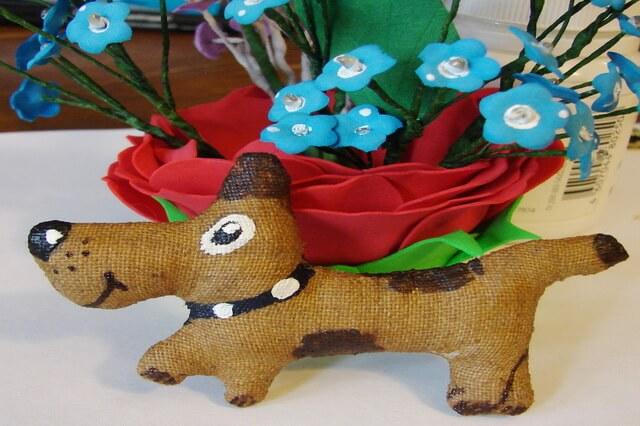 Чердачная игрушка собака своими руками - пошаговый мастер-класс