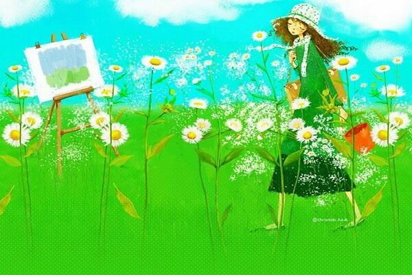 Творчество Кристиан Асух (корейской художницы)