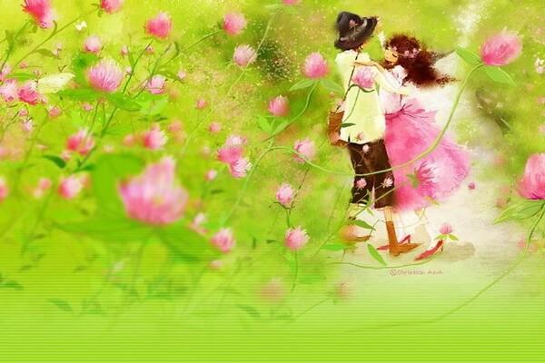 Влюблённые пары на картинах Кристиан Асух (Christian Asuh)