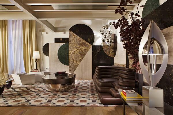 Декор Барселоны - Микс старины и современности