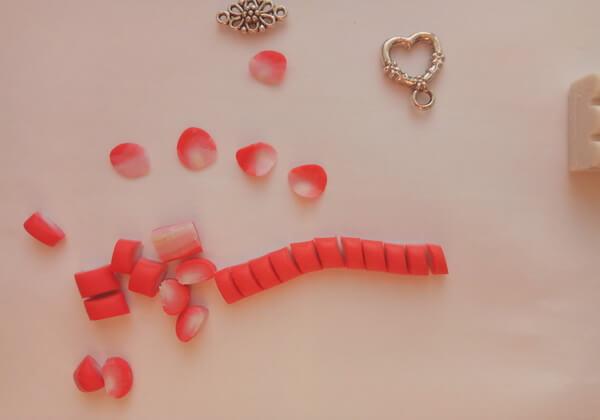 Как сделать декор бокалов из полимерной глины - шаг 3