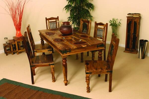Индонезийский дизайн и декор - Деревянная мебель в интерьере