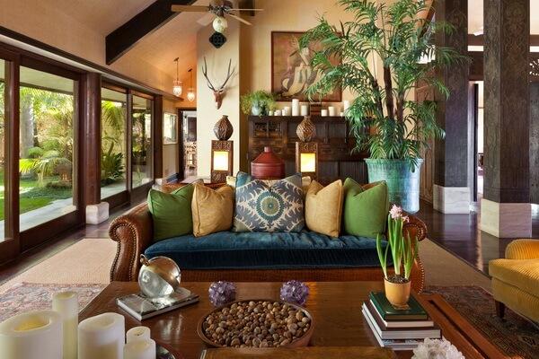 Индонезийский дизайн и декор - Естественное освещение