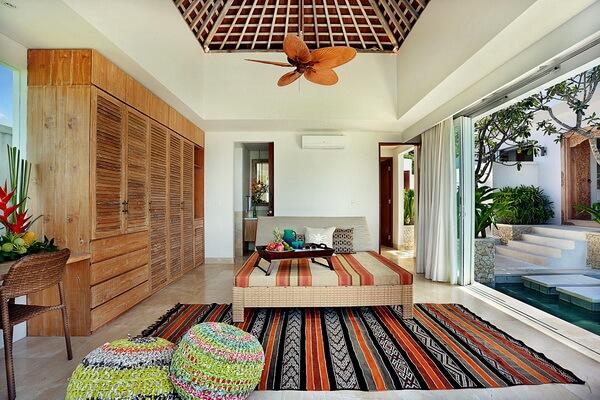 Индонезийский дизайн и декор - Плетёные аксессуары в интерьере