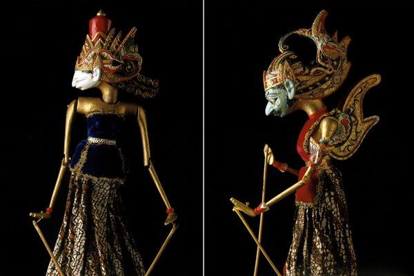 Индонезийский дизайн и декор - Яванские куклы