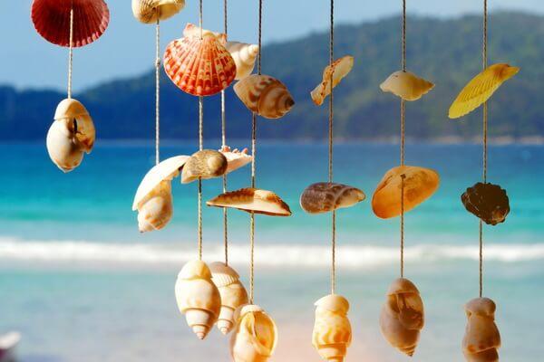 Музыка ветра из морских ракушек