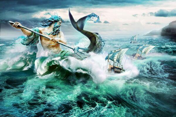 Духи воды в мифологии народов мира - Посейдон