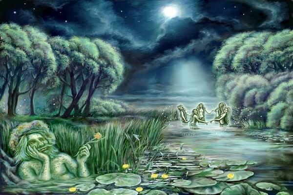 Духи воды в мифологии народов мира - Водяной и русалки