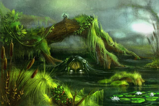 Духи воды в мифологии народов мира