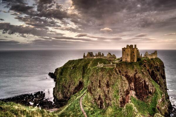Данноттар в Шотландии - где находится и как добраться