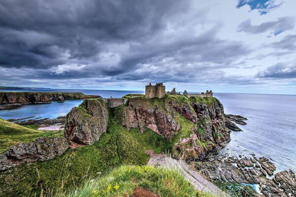 Шотландский замок Данноттар - советы туристам, как добраться