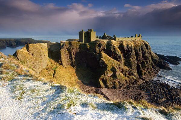 История Шотландии в замке Данноттар