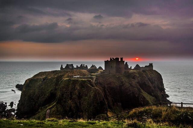 Замок Данноттар в Шотландии - история, интересные факты, как добраться