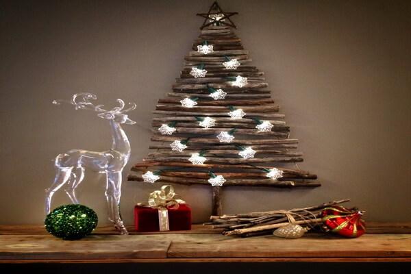 Как оформить новогоднюю ёлку в стиле лофт - интересные идеи