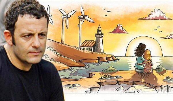 В фильме «Маленькая проблема Эйлюль» используются рисунки реального турецкого карикатуриста Erdil Yaşaroğlu.