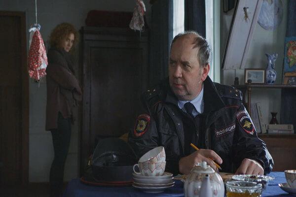 Герои фильмов про Агату Север - Участковый Тарас