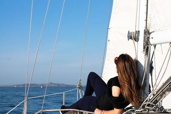 Фотосессия на яхте для романтиков моря