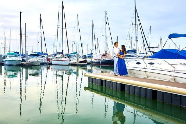 Фотосессия на яхте - идеи для вдохновения