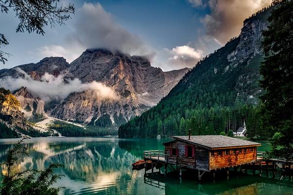 Самые красивые фото горных озёр