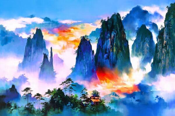 Картины художника Хонг Леунг (Hong Leung)