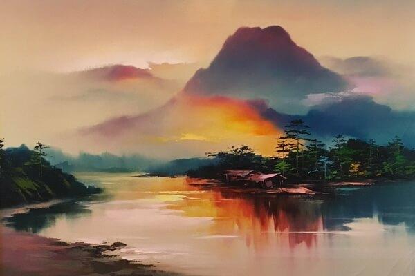 Картины с пейзажами Хонг Леунг (Hong Leung)