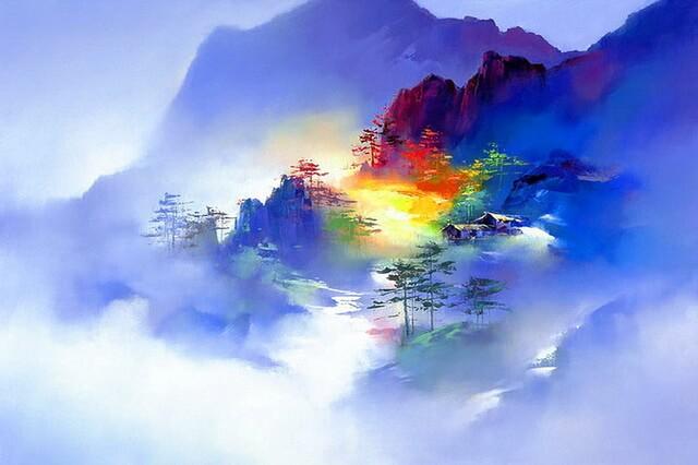 Китайский художник Hong Leung и его творчество