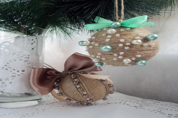 Идеи для новогоднего декора ёлки своими руками - Оригинальные ёлочные шары - фото 2