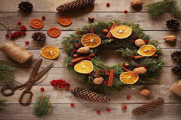 Идеи новогоднего декора для интерьера - фото 2