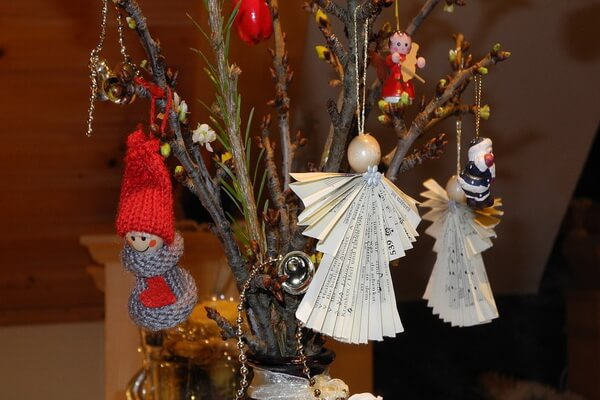 Идеи новогоднего декора для интерьера - фото 5