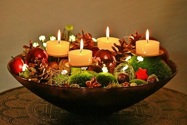 Идеи для декора новогоднего стола - фото 2