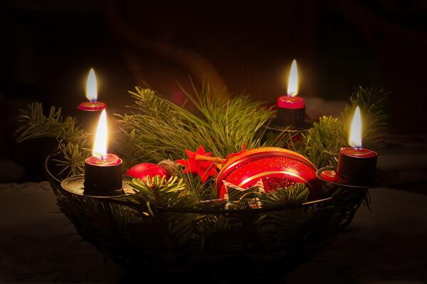 Идеи для декора новогоднего стола - фото 4