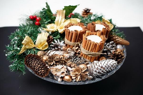 Идеи для декора новогоднего стола - фото 3