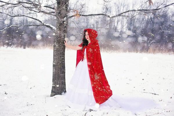Зимняя фотосессия в лесу - лучшие идеи с фото для вдохновения