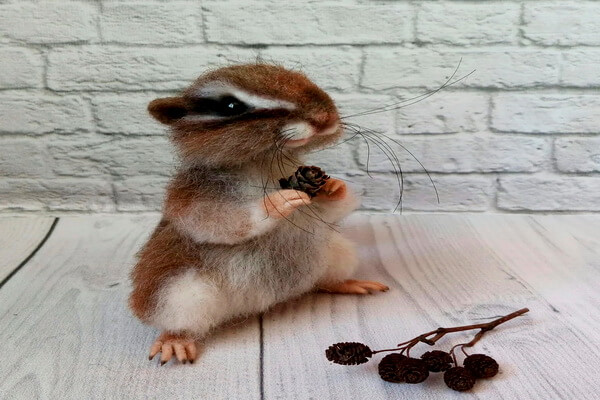 Милые игрушки ручной работы Юлии Деревщиковой